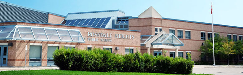 Rosedale Heights High School in Thornhill