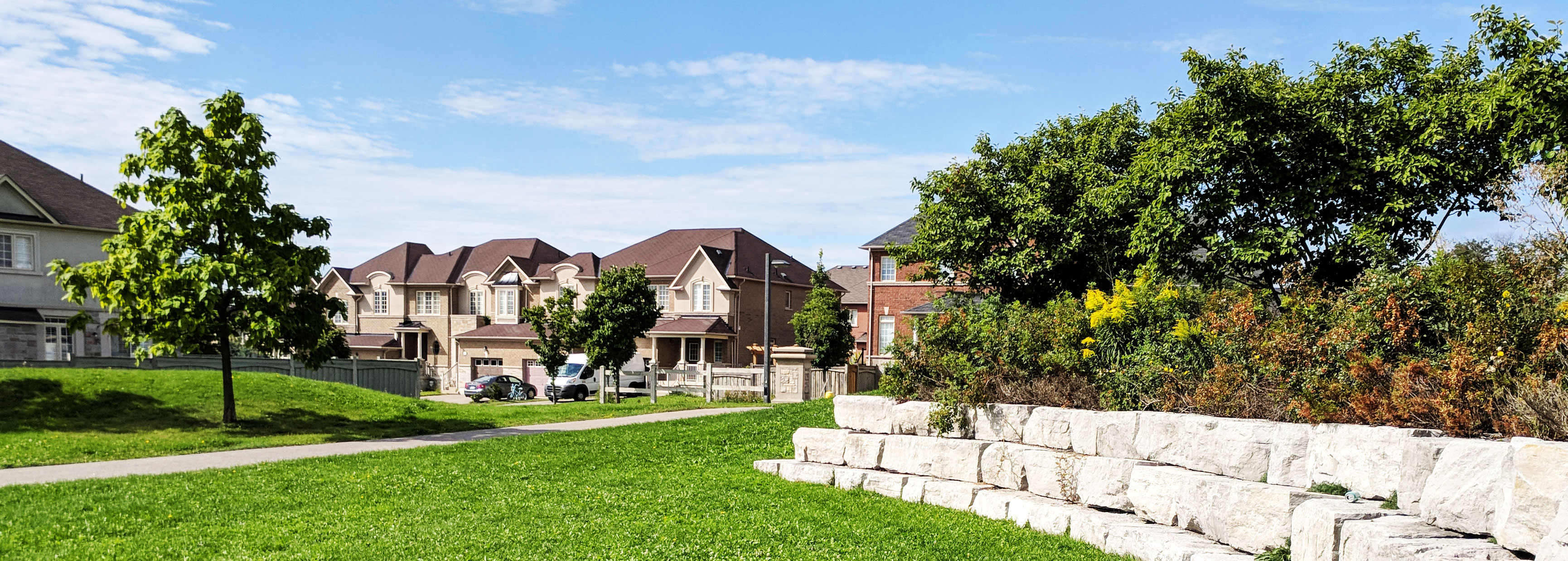Thornhill Woods, a nice community in Thornhill, Ontario